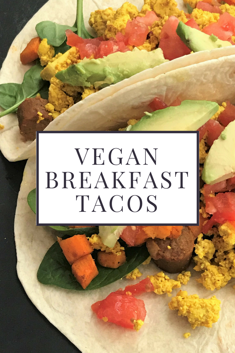 Vegan Breakfast Tacos with Tofu Scramble and Sweet Potato Hash Living Well And Wild Recipe