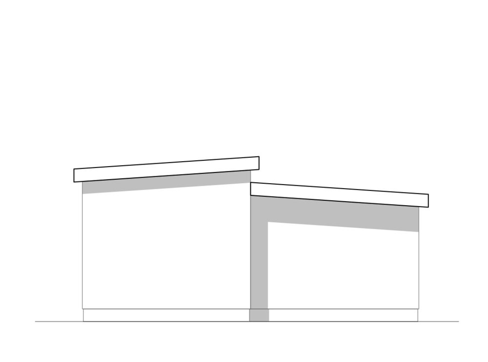 Dual-roof Design:  may be built to either manufactured or modular code, metal roofing installed at factory