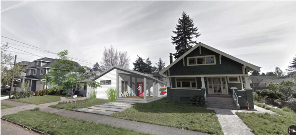 portland modern bungalow