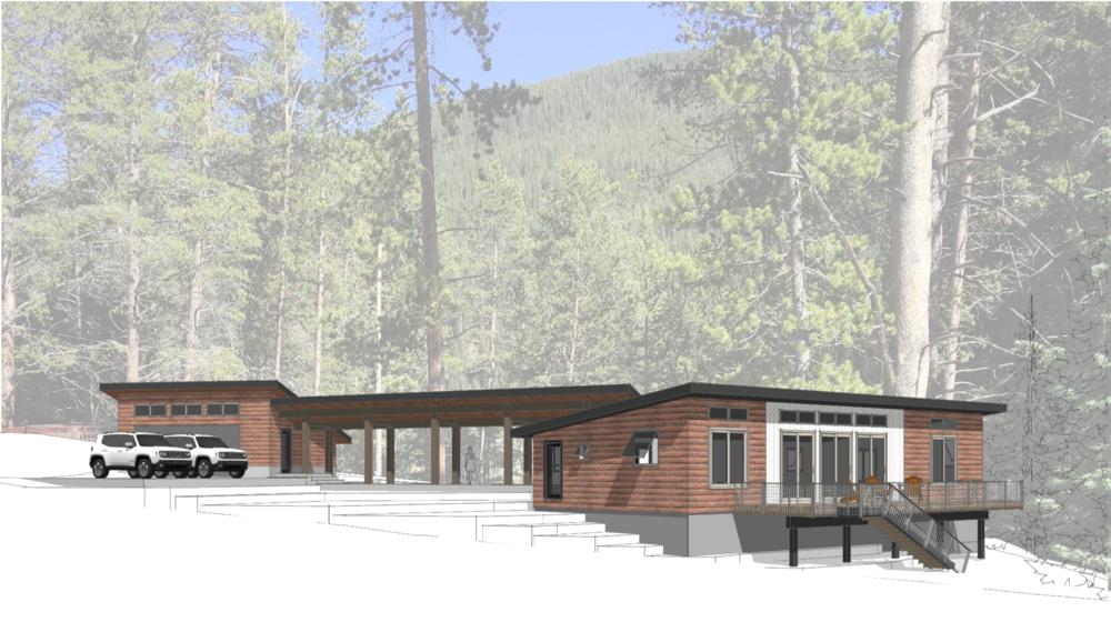 colorado high mountain residence