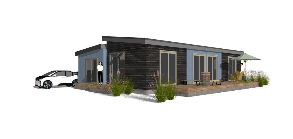 Sage Dual-roof Design