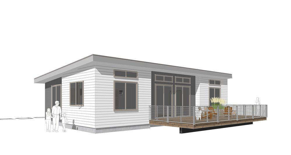 Sage Mono-roof Design