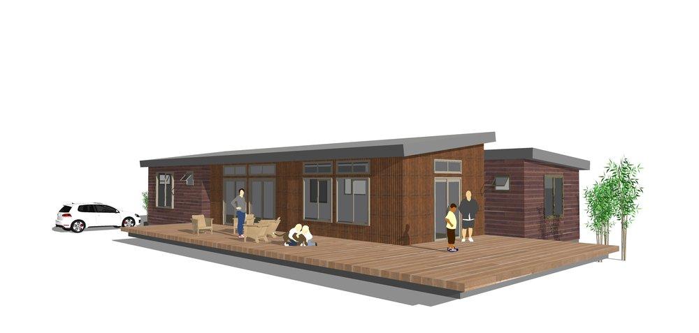 c3 dual roof design