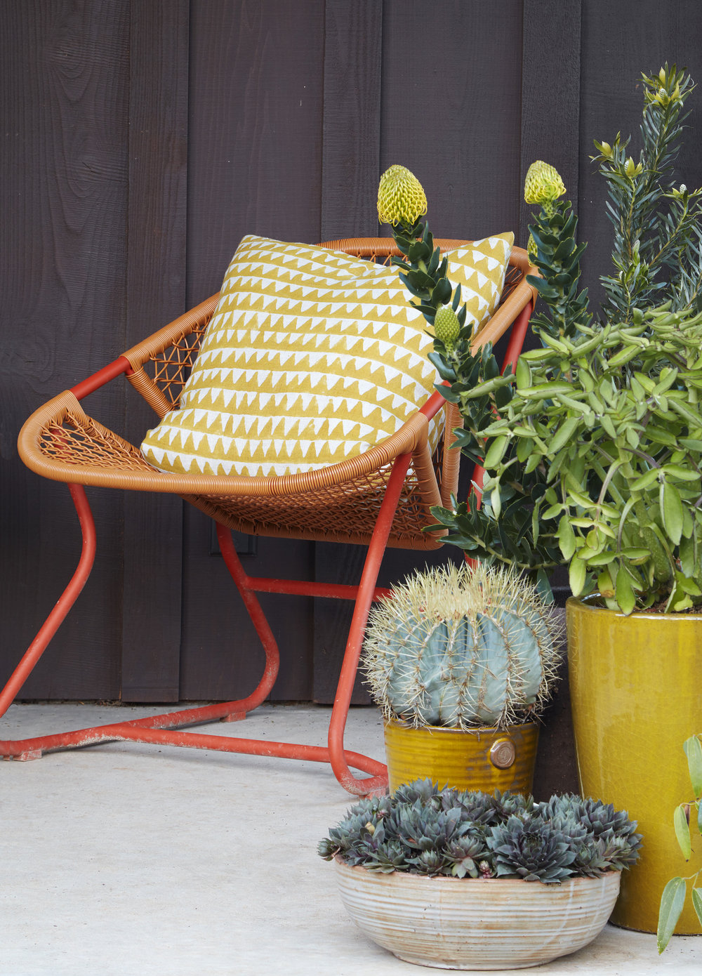 Flora Grubb Gardens Outdoor Furniture Fermob Sixties Chair