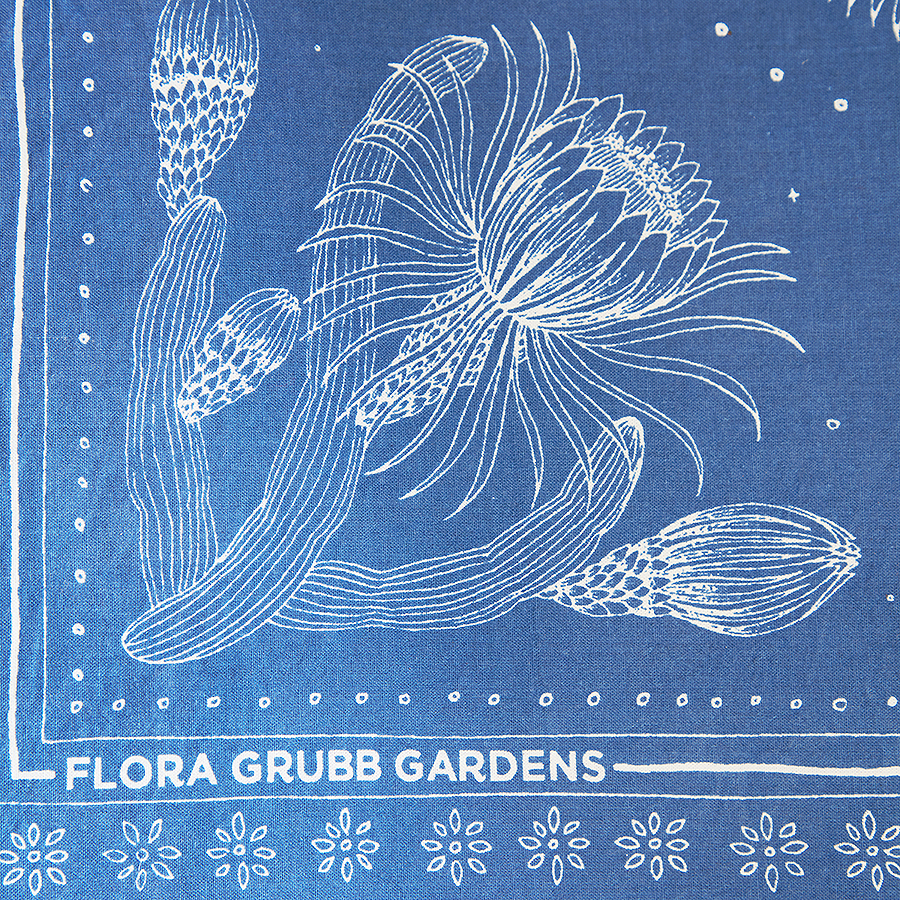 Flora Grubb Gardens Gardener's Bandanna Closeup.jpg