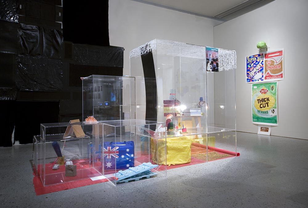 Sarah Goffman in Small Mall, 2007, Hazelhurst Regional Art Gallery, Sydney