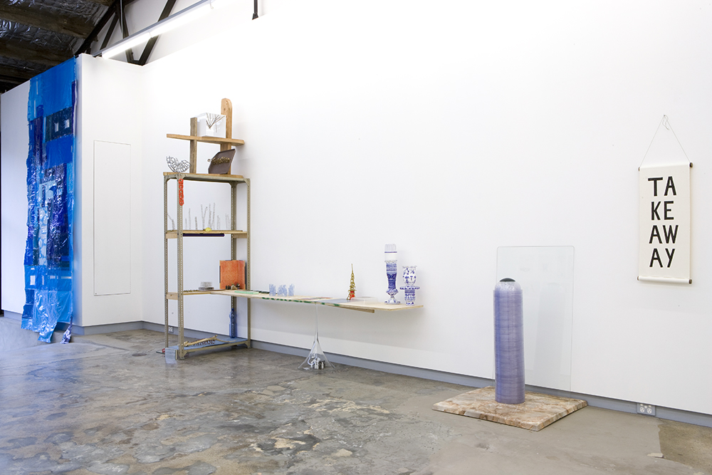 Sarah Goffman in Group Show, 2009, Breenspace, Sydney (photo: Jamie North)