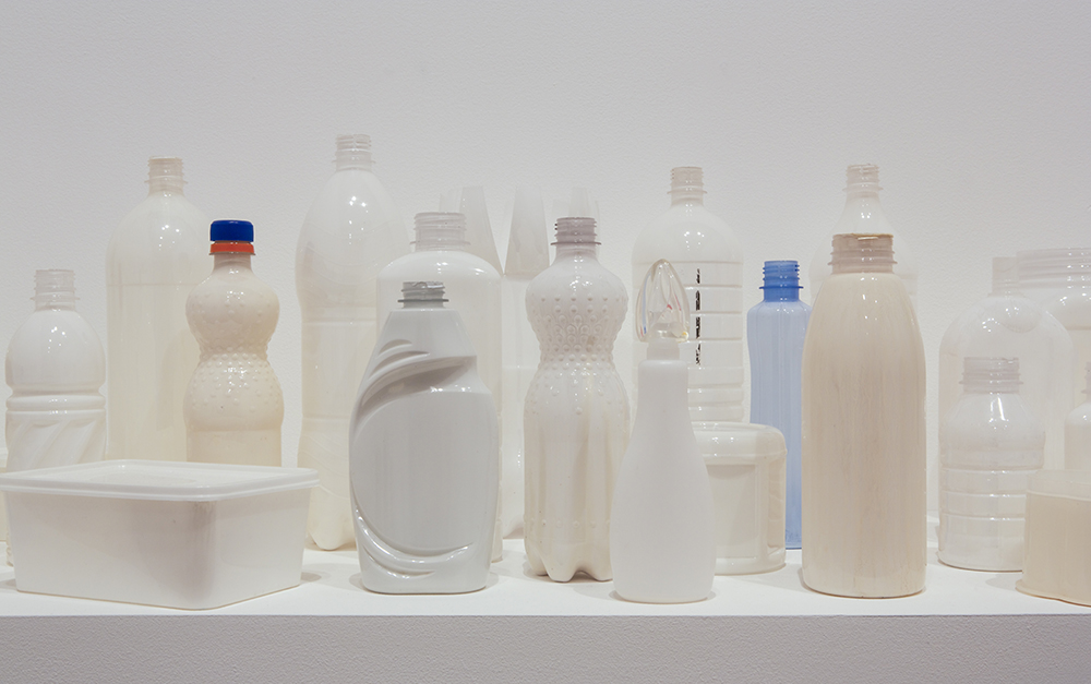Sarah Goffman, White series, 2009-2013 in JANIS II, 2013, The Commercial Gallery, Sydney (photo: Jessica Maurer)