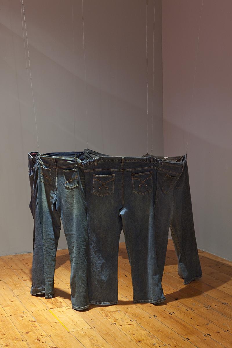 Sarah Goffman in Cryptophilistinism, 2009, curator Amita Kirpalani, Gertrude Contemporary Art Space, Melbourne