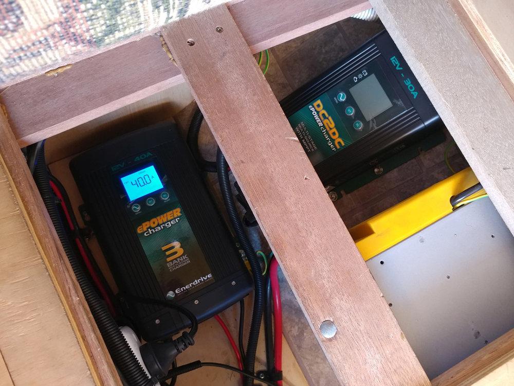 DCS 12V batteries solar, camping, caravans