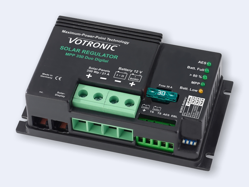 Votronic 31.5Amp solar MPPT regulator