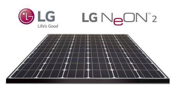 LG NEON 2 solar panels