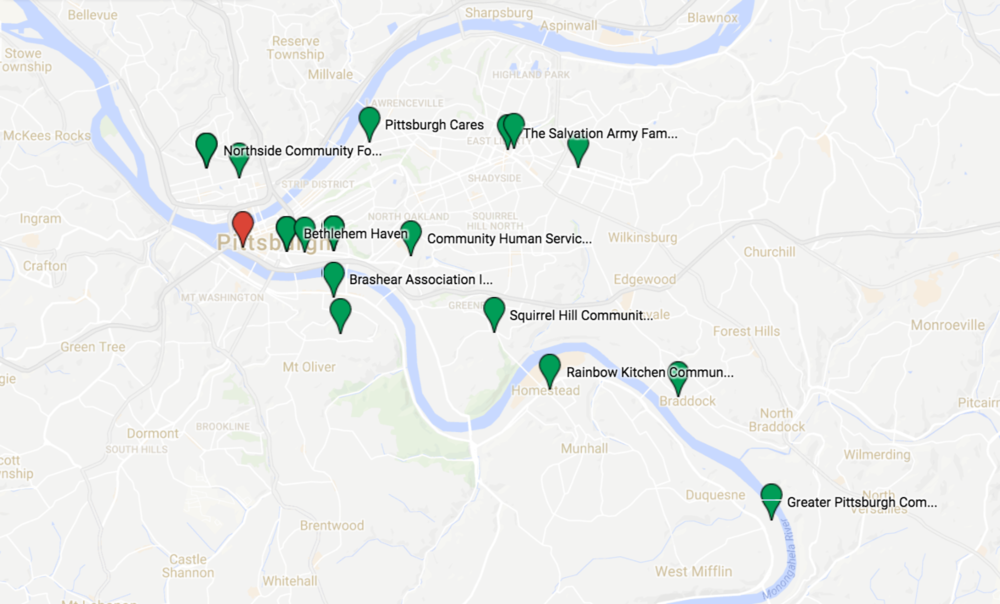 Smart city service design louise zhou map of pittsburgh stakeholders gumiabroncs Choice Image