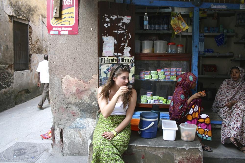 Chai Coffee, Zanzibar, Tanzania, 2013.