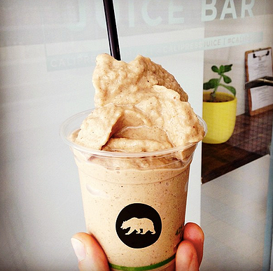 Godfather - The Pacino mylk, espresso, banana, vanilla bean, cinnamon, dates and almond butter