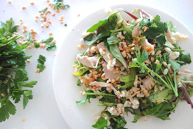 Clean Chicken & Coriander Salad