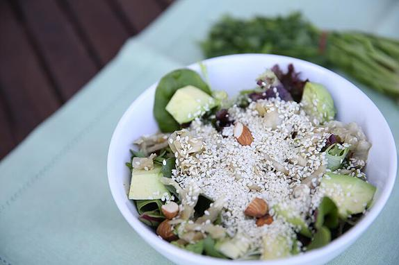 Fermented Vegetable & Avocado Bowl
