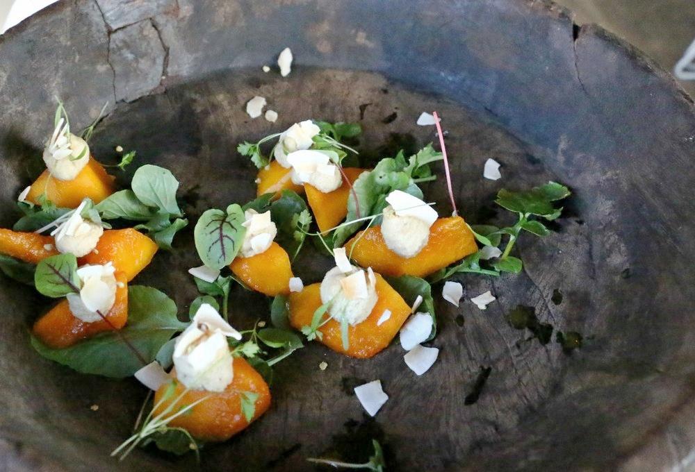 Pumpkin, Ricotta & Basil Bites