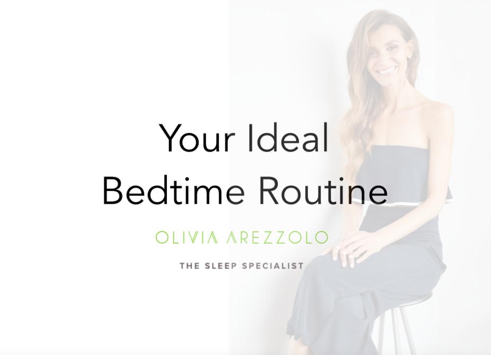 Bedtime Routine Olivia Arezzolo