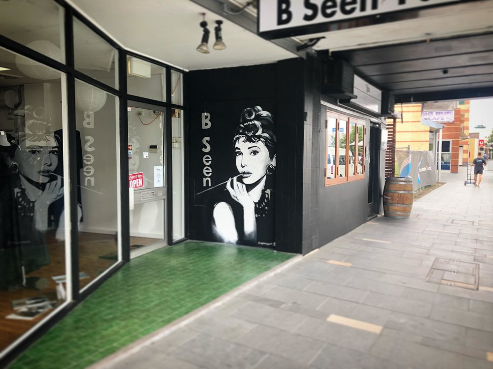 Mural for B Seen Fashion, 2018