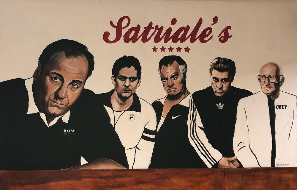 Mural for Satriale's Deli, 2018