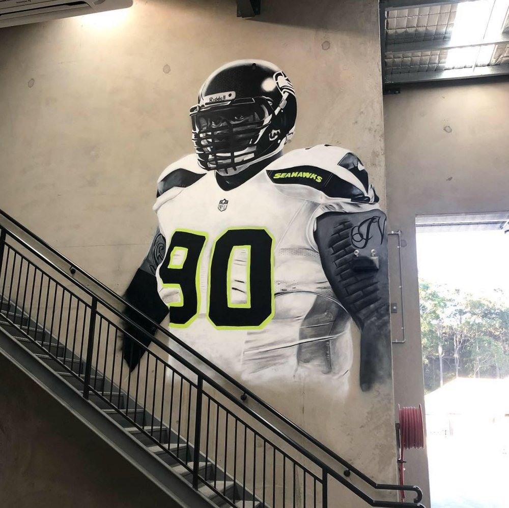 Mural for NexLevel Fitness, 2018