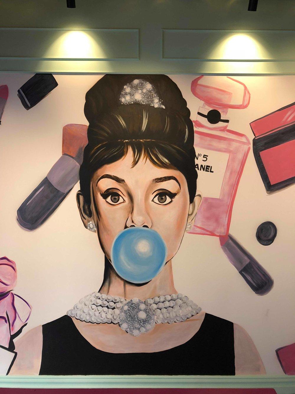 Mural for Social Hideout, 2018