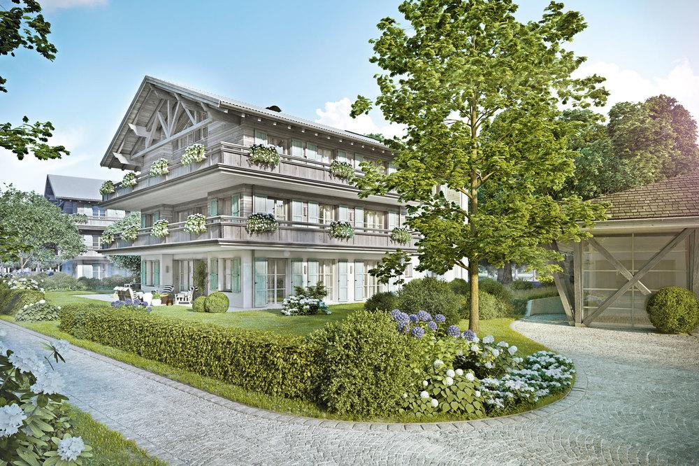 Wohnungen am Tegernsee - Villa Neureuth am Tegernsee