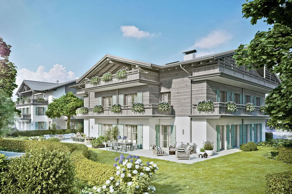Wohnungen am Tegernsee - Villa Wallberg