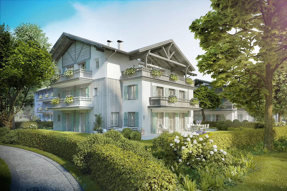 Wohnungen am Tegernsee - Villa Setzberg