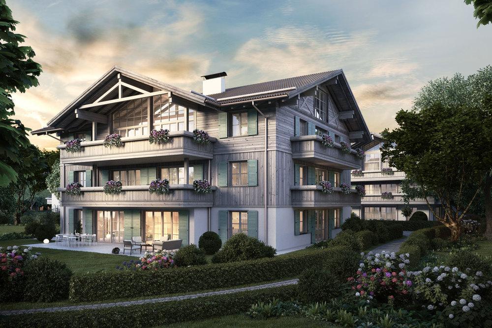 Wohnungen am Tegernsee - Villa Ringberg
