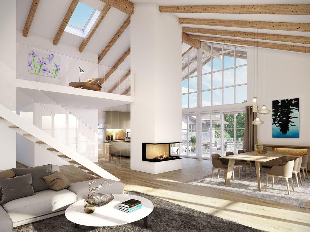 """Penthouse Villa Tegernsee """"Modern"""""""