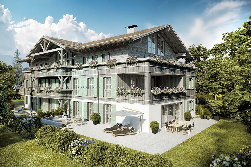 Wohnungen am Tegernsee - Villa Tegernsee