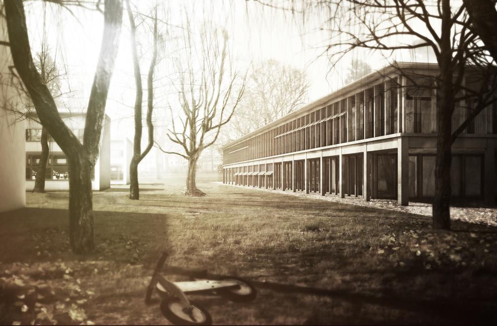 Schulhaus Wasgenring, Basel