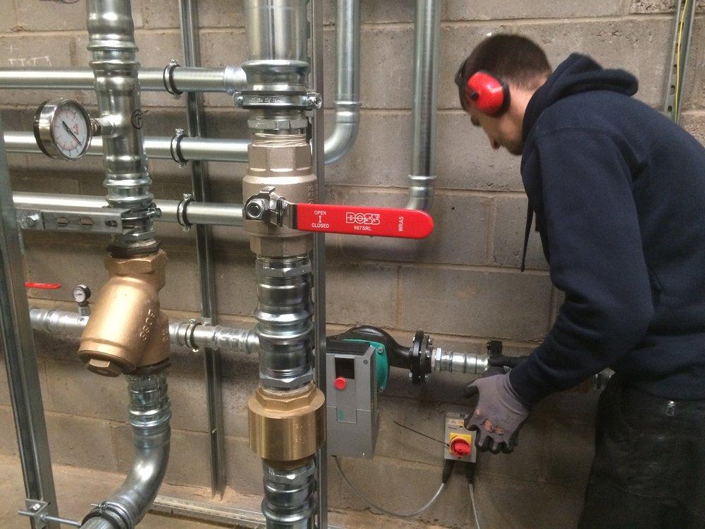 biomass repair work