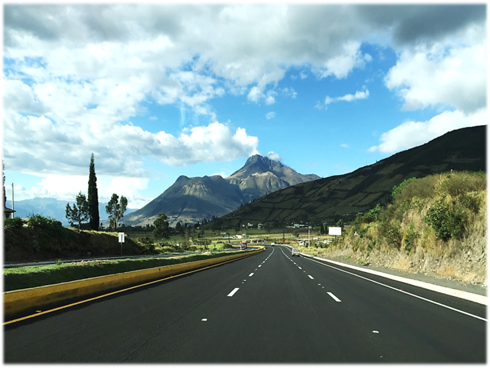 The wide, newly constructed roads allow for a quick and smooth drive from Quito to Cascabel.