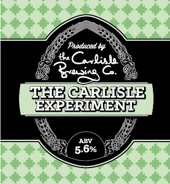 An international pale ale.   Hmmm… how to describe our Experiment; an international pale ale with American, New Zealand and British hops with a fresh, citrus taste, it certainly packs a punch in all senses of the word. Deceptively easy drinking for the ABV. Carlisle was home to the State Management Scheme, a Government social engineering project to control excessive drinking that lasted until the 1970's – it was known as 'The Carlisle Experiment'.