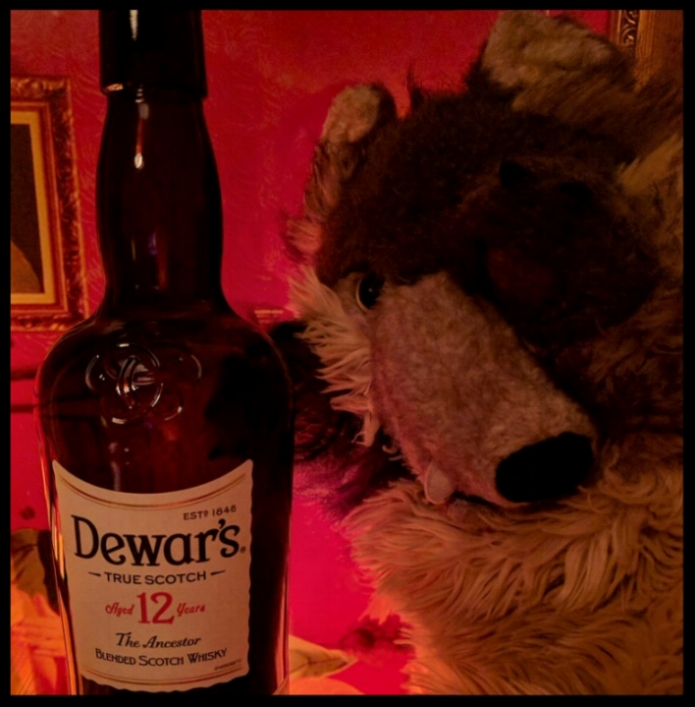 Hitch, distressed over the dumbing-down of Dewars, consoled himself with the whole bottle.