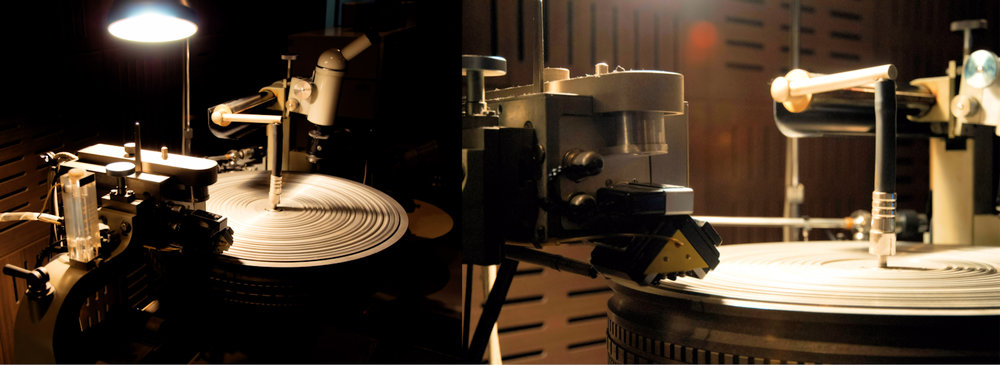 The Neumann Cutting Lathe.