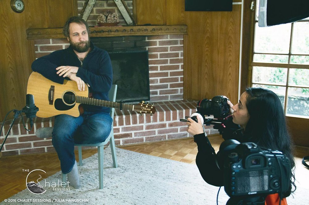 Craig Cardiff Session - Craig on set
