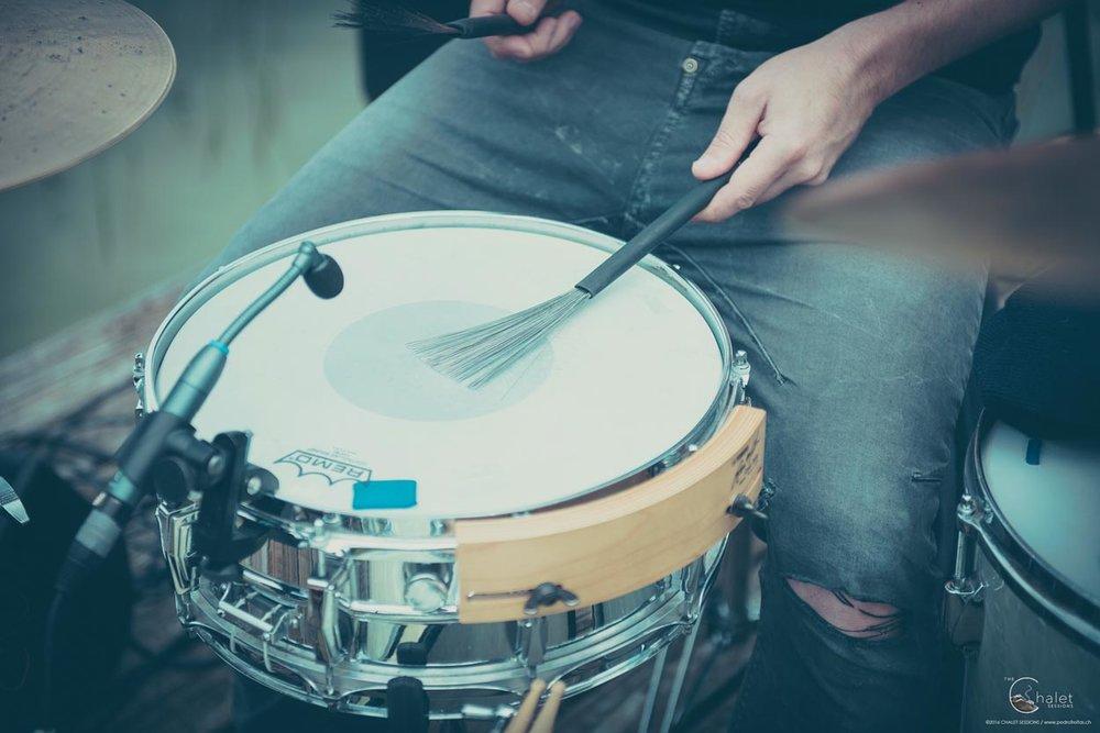 Transistor Girl Session - drum brushes