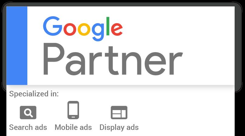 Click logo to verify Google Partner badge