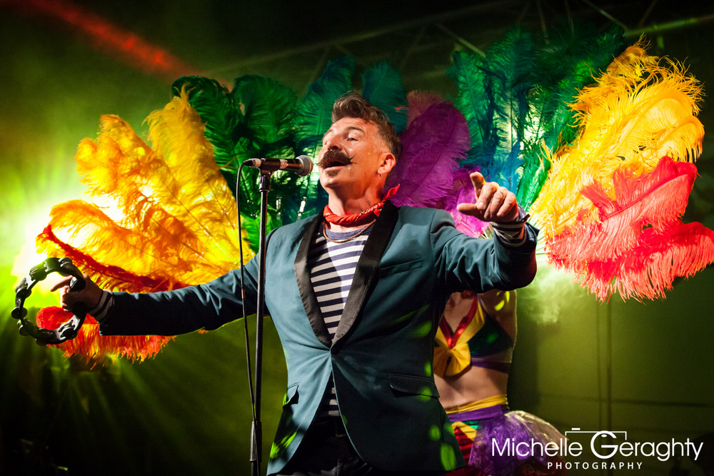 Jerry Fish at Light Colour Sound Festival, Kilkenny