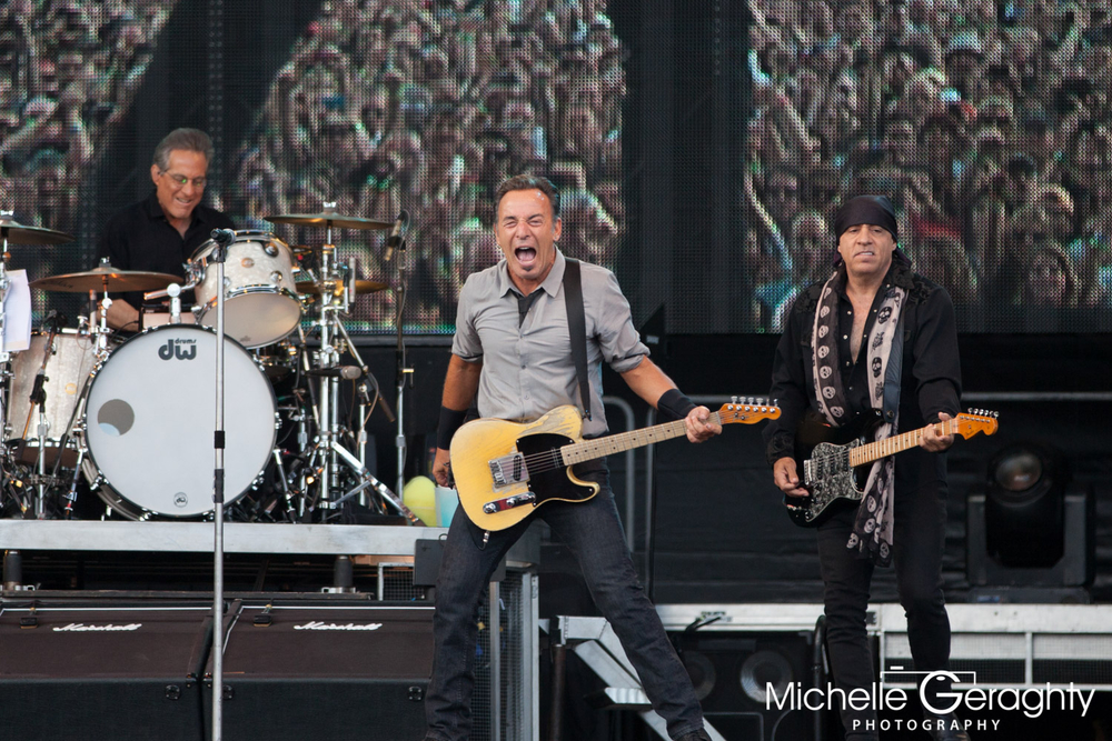 Bruce Springsteen at Nowlan Park, Kilkenny