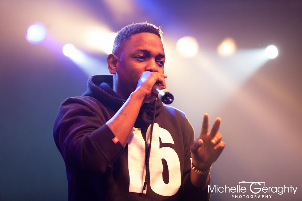 Kendrick Lamar at Vicar Street, Dublin