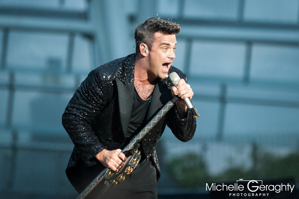 Robbie Williams at the Aviva Stadium, Dublin