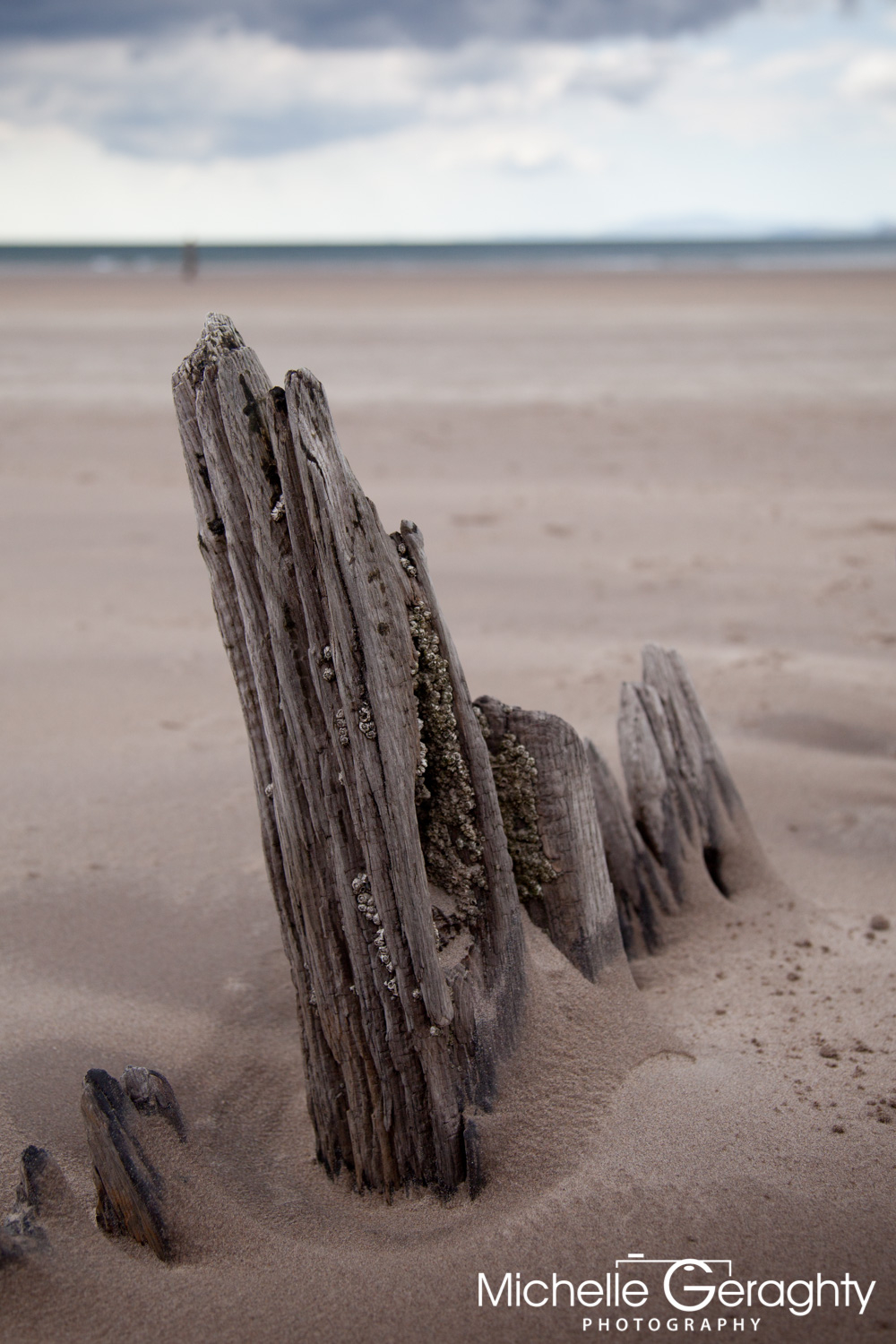 'Sunbeam' Shipwreck on Rossbeigh Beach, Co. Kerry, Ireland