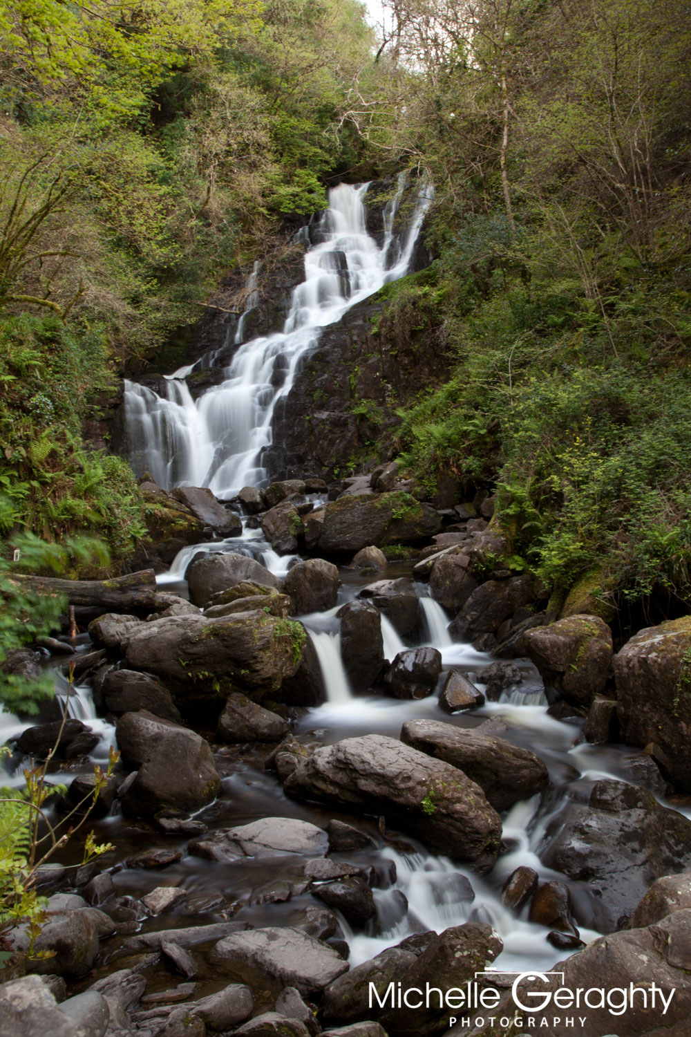 Torc Waterfall, Killarney, Co. Kerry, Ireland