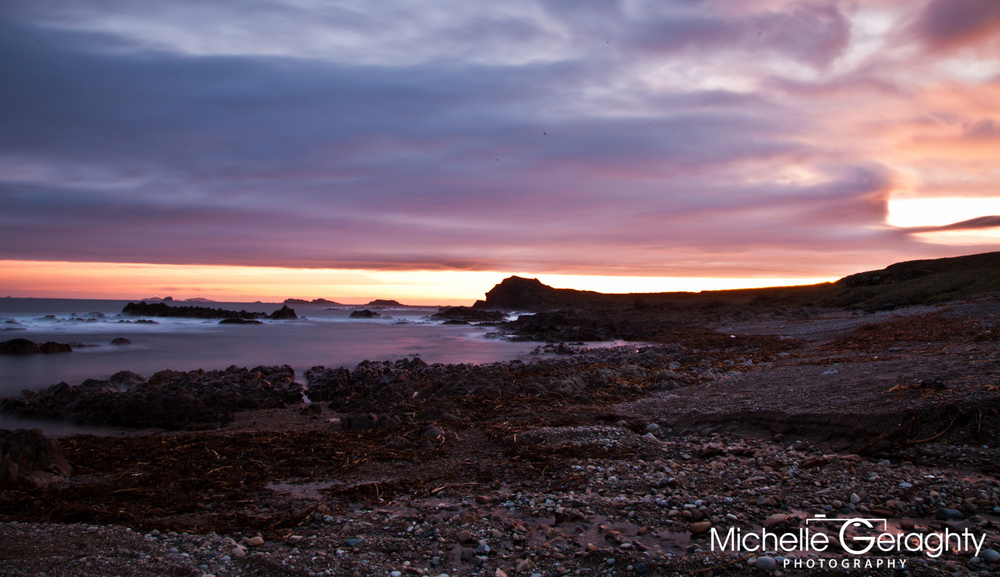 Sunrise over Malin Head, Co. Donegal, Ireland