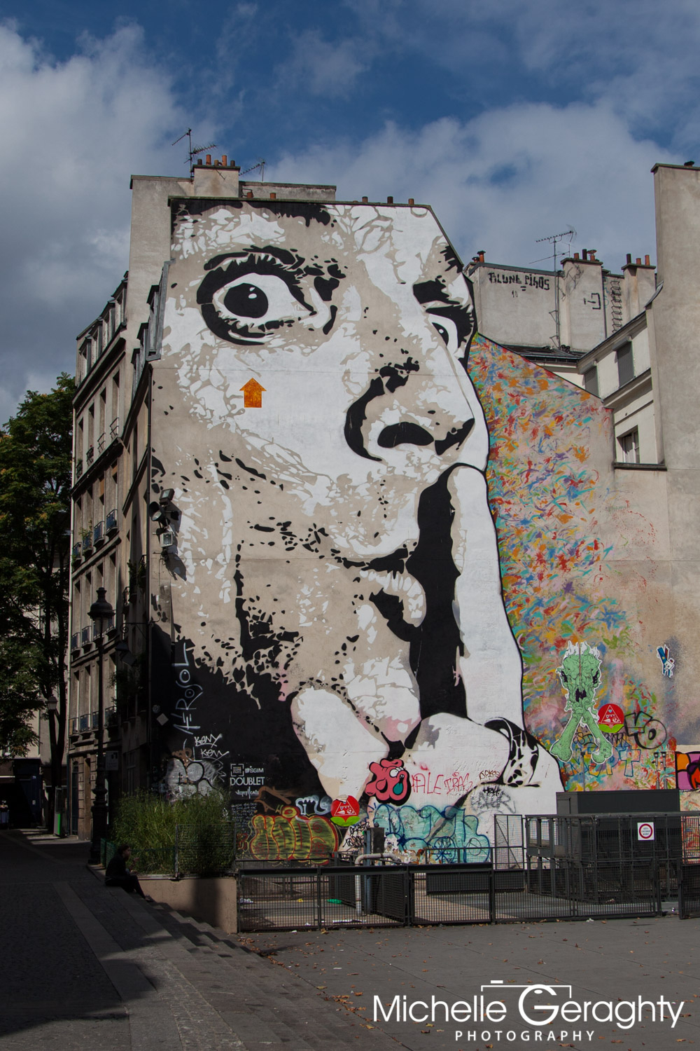 Graffiti Wall, Paris, France